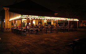 Cafe Du Monde in Fench Quarter