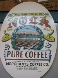 New Orleans Coffee Sign