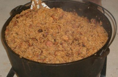 Cajun Jambalaya at Mother's Day