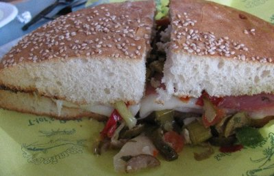 Muffuletta  from Messina's