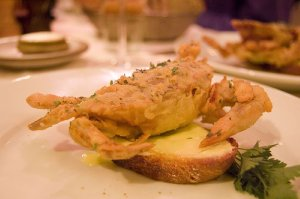 Fried Softshell Crab