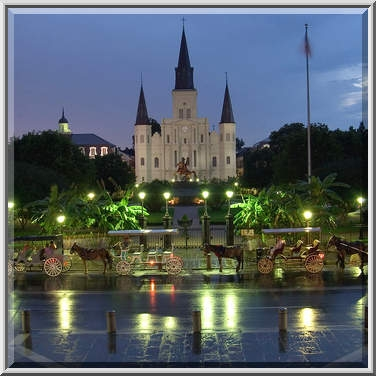St. Louis Cathedral in French Quarter