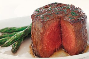 Steak at Ruth Chris Steakhouse